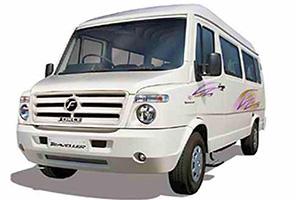 hire 9 seater tempo traveller in delhi