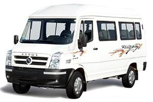 9 seater tempo traveller in delhi