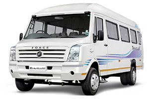 hire one by one 11 seater tempo traveller in delhi